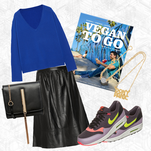 Monday Must Haves, Shoppingtipps, Vegan to Go, Attila Hildman, Nike, Mar by Marc Jacobs, Theory, Tassel Bag