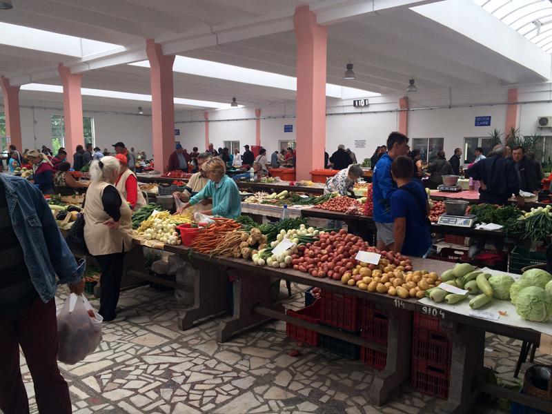 Markthalle Rumänien