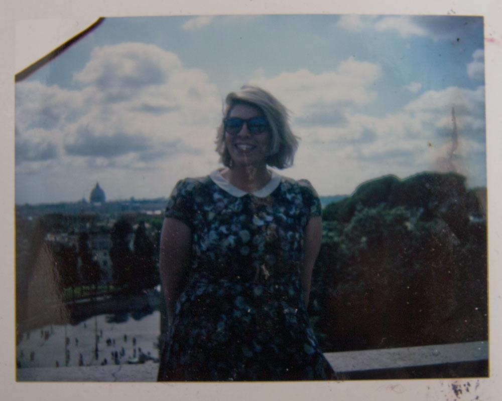 Rome Polaroid Piazza del Popolo